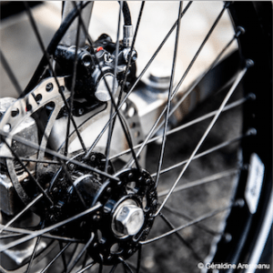roue avant du vhélioriginal